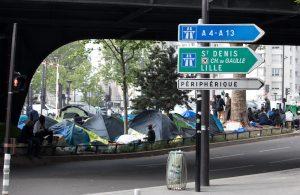 Fransa | Paris'in En Büyük Mülteci Kampı Polis Zoruyla Dağıtıldı