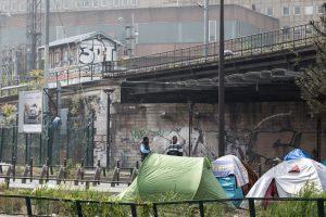 Fransa | Paris'te Sığınmacılara Tahliye Operasyonu