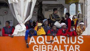 İtalya, Göçmen Taşıyan Alman Gemisinin Kara Sularına Girişini Yasakladı