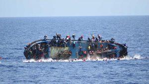 Düzensiz Göçmenlerin Yardım Çağrılarını Dikkate Almayan Avrupa Ülkelerine Tepki