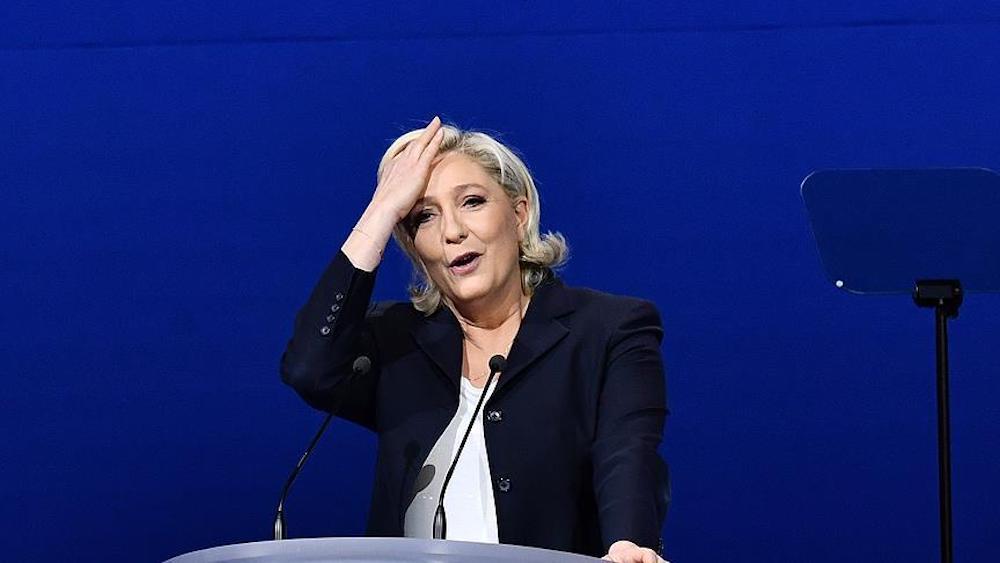 Le Pen mahkeme