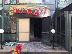 Almanya'da Türk Restoranı Kundaklandı