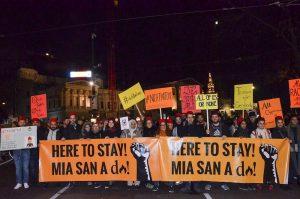 """Avusturya'da Hükümet Karşıtı Protesto: """"Hepimiz Ali'yiz"""""""