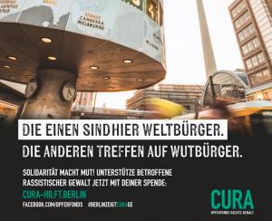 Almanya'da Aşırı Sağcı Şiddet Mağdurlarına Yönelik Yeni Kampanya