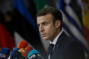 """FransaCumhurbaşkanı Macron: """"Şiddete Başvuran Polisler Var"""""""