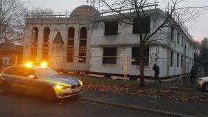 Duisburg'da İnşaatı Süren Mevlana Camisi'ne Boyalı Saldırı