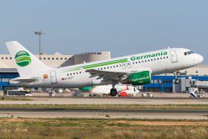 Alman Hava Yolu Şirketi Germania İflas Etti