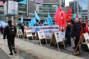 Çin'in Uygurlara Yönelik Uygulamaları Kanada'da Protesto Edildi