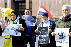 Mısır'da 9 Gencin İdam Edilmesi Berlin'de Protesto Edildi