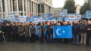 Çin'in Uygurlara Yönelik Politikaları Protesto Edildi