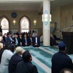 """IGMG Camisi'ni Ziyaret Eden Eyalet İçişleri Bakanı: """"Müslümanların Acılarını Paylaşıyorum"""""""