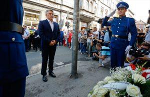 Saraybosna'daki Pazar Yeri Katliamının Kurbanları 24. Yılında Törenle Anıldı