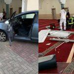 Fransa'da Camiye Saldırı: Araç İle Camiye Girmeye Çalışan Bir Kişi Yakalandı