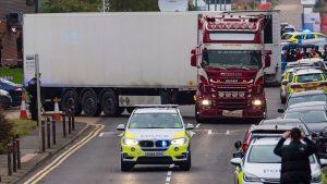 İngiltere'de İçinde 39 Ceset Bulunan Tırın Sürücüsü Tutuklandı