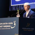 31'inci Avrupa Kur'an-ı Kerim Tilaveti Yarışması Büyük Coşkuya Sahne Oldu