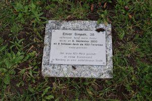 Almanya'da Irkçı Cinayet Kurbanı Enver Şimşek'in İsmi Bir Meydana Verildi