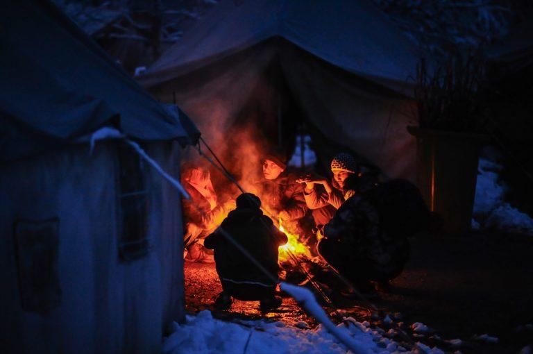 Bosna Hersek'teki Vucjak Kampı