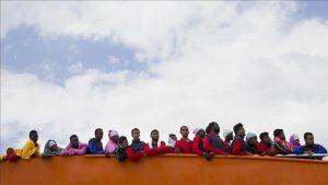 Her Yıl Bir Milyon Afrikalı Kıta İçerisinde Göç Ediyor