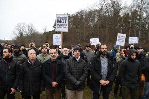İsveç'te Çin'in Uygurlara Yönelik Politikaları Protesto Edildi