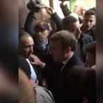 Macron'dan İsrail Polisine Tepki: Çık Dışarı!