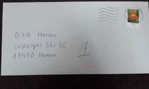 Terörün Hedefi Olan Hanau'daki Camiye Irkçı Mektup