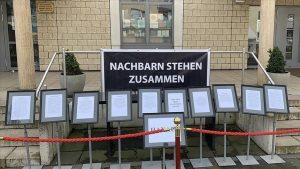 Hanau'daki Irkçı Terör Saldırısının Kurbanları Duisburg'da Anıldı
