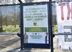 Hollanda'da Sağlık Personeline Ayetle Teşekkür