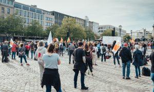 Almanya'da Aşırı Sağcı Partinin Gösterisi Yasaklandı