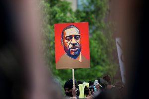 Almanya'da, George Floyd Protestosu