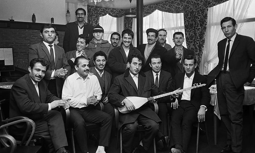 Avrupa'da düğün işçiler lokal 1965