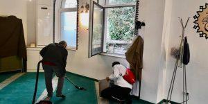 Berlin Wittenau Medine Camii Tahrip Edildi