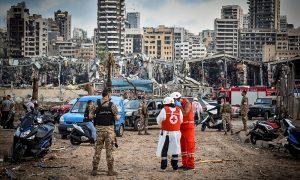 Beyrut Patlaması Çöküşe Giden Lübnan'ı Sarstı