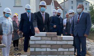Almanya'da 1600 Metrekarelik Cami Ve Külliyesinin Temeli Atıldı