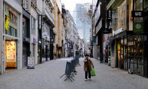 Belçika'da Kovid-19 Nedeniyle Kapatılan Bazı Mağazalar Yeniden Açılıyor