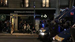 """Fransa'da """"Genel Güvenlik"""" Yasa Tasarısı Protestosuna Polis Müdahalesi"""