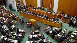 Avusturya'da Terörle Mücadele Yasa Tasarı Mecliste Kabul Edildi
