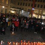 Avusturya'da, Moria Kampı'ndaki Sığınmacılar İçin Gösteri Düzenlendi