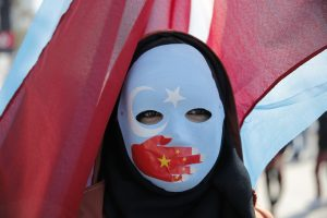 Londra ve Stockholm'da Çin Yönetimi Protesto Edildi