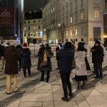 """Avusturya'da """"Terörle Mücadele Yasa Tasarısı"""" Protesto Edildi"""