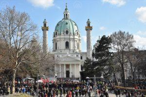 Avusturya'nın Başkenti Viyana'da Irkçılık ve Ayrımcılık Protesto Edildi