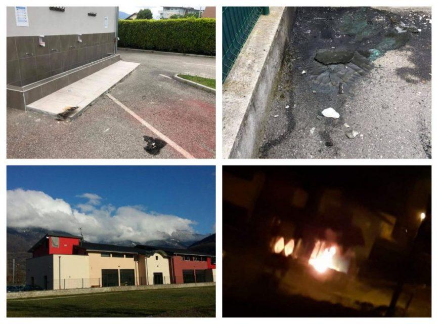 CIMG'ye Bağlı Albertville Fatih Camii Kundaklandı