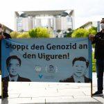 Çin'in Uygurlara Yönelik Baskılarının Soykırım Olarak Tanınması İçin Gösteri