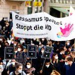 Berlin'de Polis Şiddeti ve Irkçılık Protesto Edildi