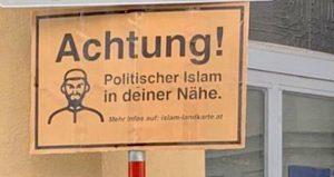 """""""İslam Haritası"""" Tartışmaları Sürüyor: Viyana'da Camiler Hedef Gösterildi"""