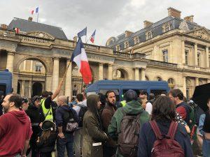Fransa'da Aşı Karşıtı Gösteriler Devam Ediyor