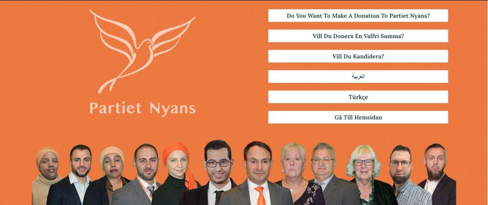 İsveç'te Parti Kuran Türkiye Kökenli Siyasetçi Kampanyasına Başladı