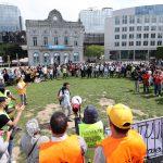 "Brüksel'de ""Kağıtsızlardan"" Oturum İzni Protestosu"