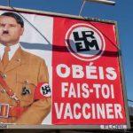 Macron'un Hitler'e Benzetildiği Afişi Asana 10 Bin Avro Ceza