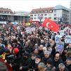 Almanya'nın Hanau Kentinde Irkçılık ve Teröre Karşı Yürüyüş Düzenlendi